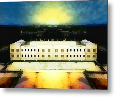 The Last Bastion Metal Print by Wendy J St Christopher