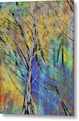 Metal Print featuring the painting The Last Leaf by Yul Olaivar