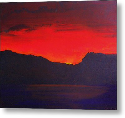 The Last Light 2012 Metal Print