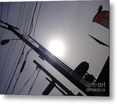 The Last Light In The Bloom  Metal Print
