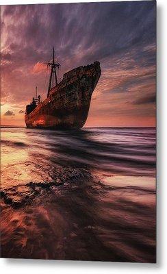 The Last Port Metal Print