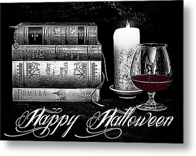 The Last Sip Metal Print by Jacque The Muse Photography
