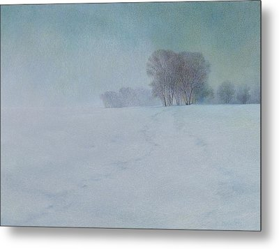 The Last Snow Metal Print by Lynn Bywaters