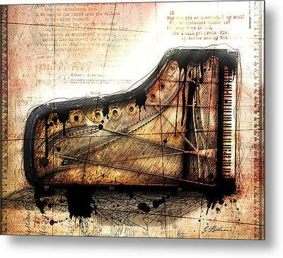 The Last Sonata Metal Print