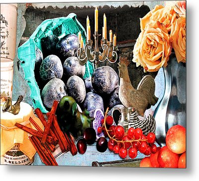 The Last Supper Metal Print by Diane Cassone