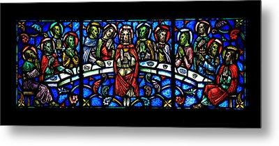 The Last Supper Metal Print by Stephen Stookey