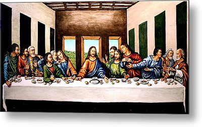 The Last Supper Metal Print by Todd Spaur