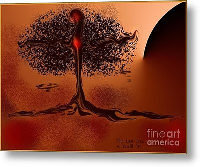 The Last Tree Metal Print