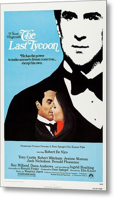 The Last Tycoon, Top And Bottom Left Metal Print by Everett