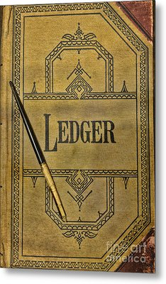 The Ledger Metal Print