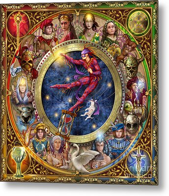 The Legacy Of The Devine Tarot Metal Print by Ciro Marchetti