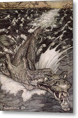 The Leviathan Metal Print