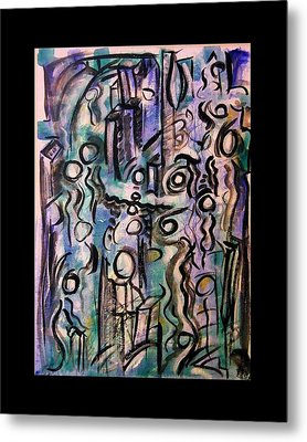 The Life Of People Metal Print by Mimulux patricia no No