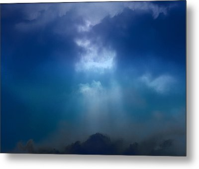 Light Above The Storm Metal Print by Kellice Swaggerty