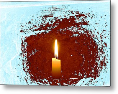 Metal Print featuring the photograph The Light Below by Marwan Khoury