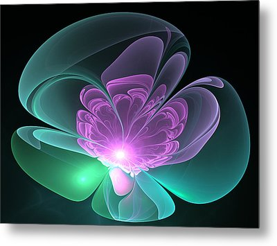 The Light Inside  Metal Print by Svetlana Nikolova