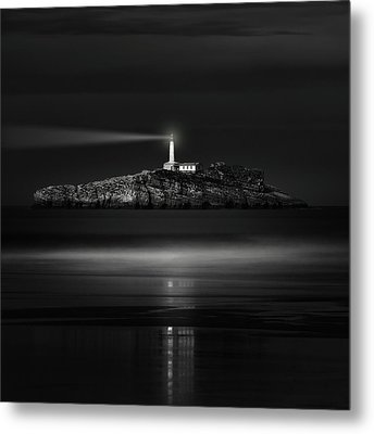 The Light That Guides Us Metal Print
