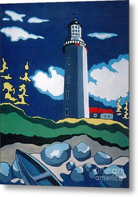 The Lighthhouse Metal Print