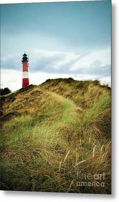 the lighthouse of Hoernum Metal Print by Hannes Cmarits