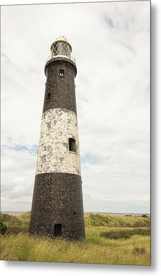 The Lighthouse On Spurn Point Metal Print by Ashley Cooper