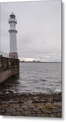 Metal Print featuring the photograph The Lighthouse by Sergey Simanovsky