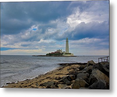 The Lighthouse Metal Print by Trevor Kersley