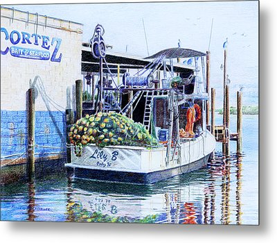 The Lily B Metal Print by Roger Rockefeller