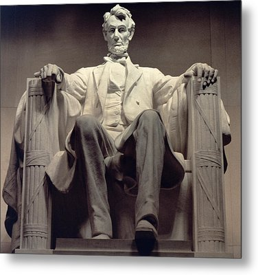 The Lincoln Memorial Metal Print by Daniel Chester French