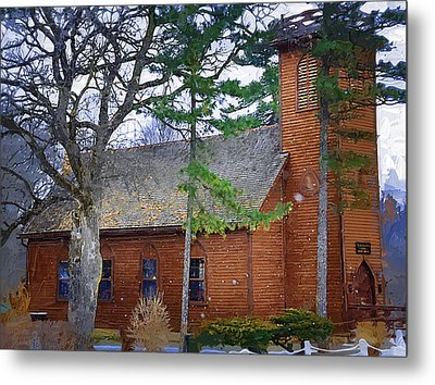 The Little Brown Church In The Vale Metal Print