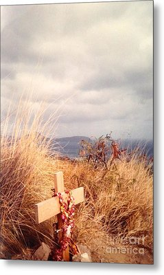 Metal Print featuring the photograph The Little Cross by Carla Carson