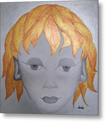 The Little Prince Metal Print by Marianna Mills