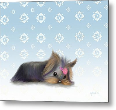 The Little Thinker  Metal Print by Catia Cho