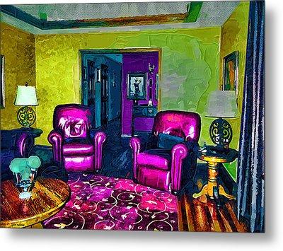 The Living Room Metal Print by Tyler Robbins