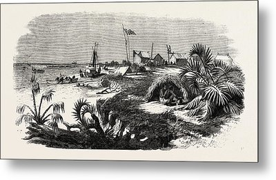The Livingstone Expedition In Africa Dr Metal Print by English School