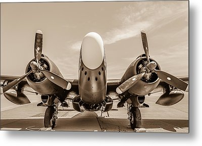 The Lockheed Pv-2d Harpoon Metal Print by Sarit Sotangkur