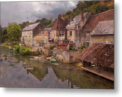The Loir River Metal Print by Debra and Dave Vanderlaan
