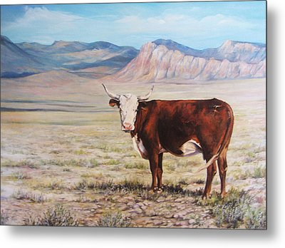 The Lone Range Metal Print by Donna Tucker