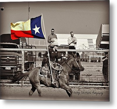 The Lone Star State Metal Print by Lindsay Milloy