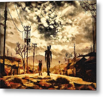 The Lone Wanderer Metal Print