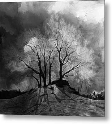 The Lonely Grave Metal Print by Steve K