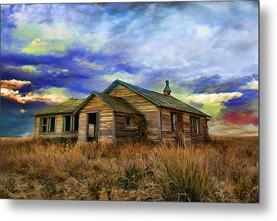 The Lonely House Metal Print