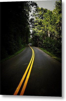 The Long And Winding Road Metal Print by Natasha Marco
