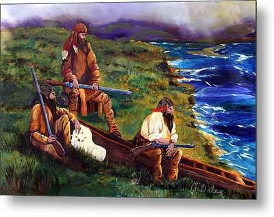 The Long Hunters Metal Print by Gail Daley