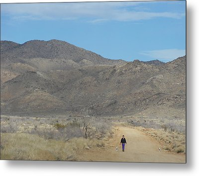 The Long Road Home Metal Print