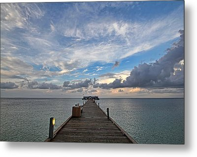 The Long Walk Metal Print by HH Photography of Florida