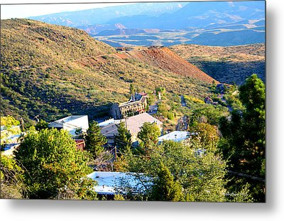 The Long Winding Road Metal Print by Dick Botkin