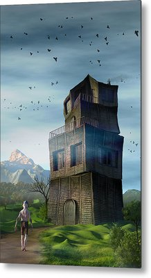 Metal Print featuring the digital art The Longest Day by Matt Lindley