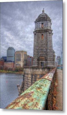 The Longfellow Bridge - Boston Metal Print by Joann Vitali