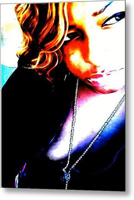 Metal Print featuring the photograph The Look by Gayle Price Thomas