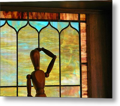Metal Print featuring the photograph The Lookout by Jean Goodwin Brooks